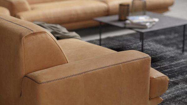 Kožená sedačka Club - Luxusné talianske sedacie súpravy