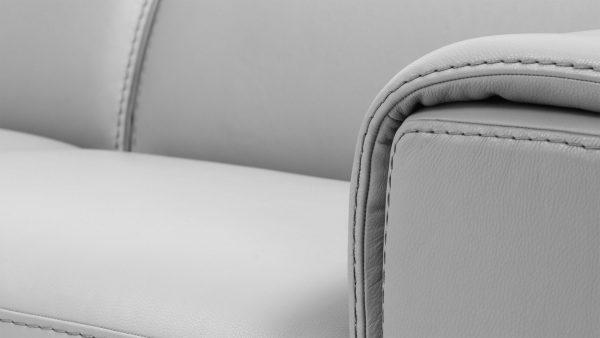 Kožená sedačka Maya square- Luxusné talianske sedacie súpravy